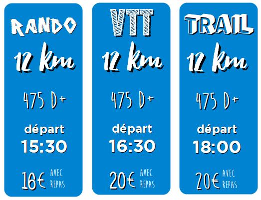 cartouches 12km