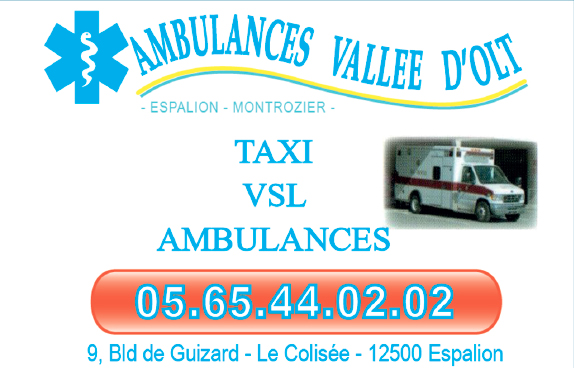AMBULANCES VALLE¦üE DU LOT